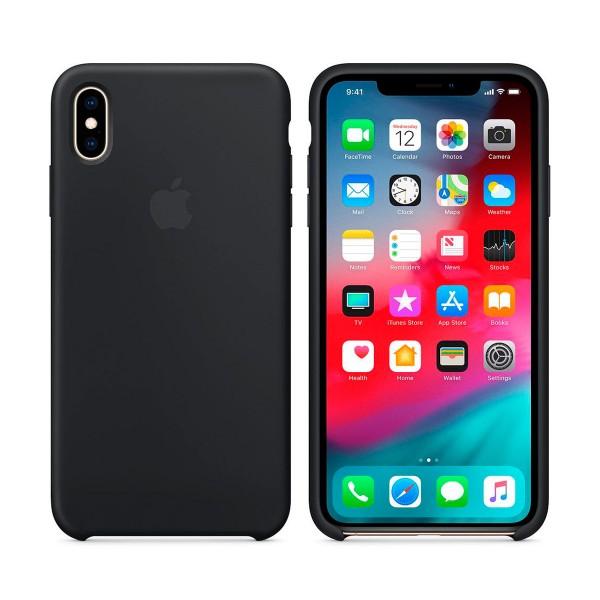ac0685a0e1d Apple mrwe2zm/a negro carcasa de silicona apple iphone xs max - Demo ...